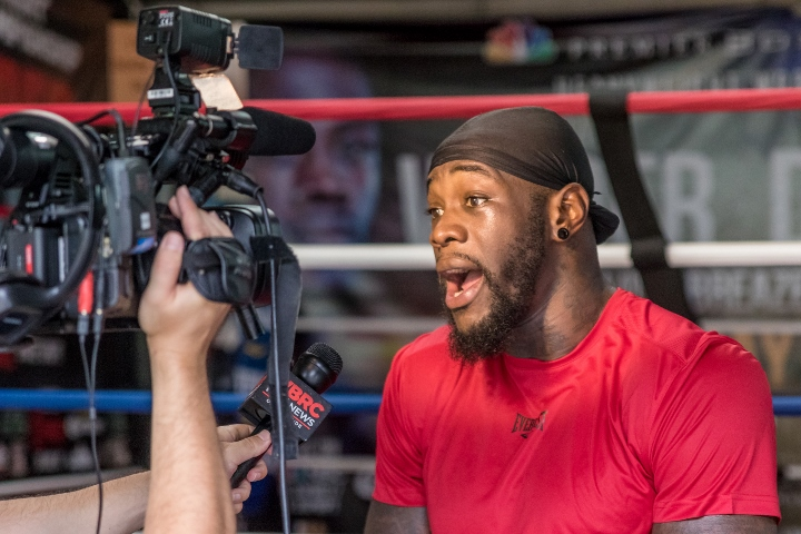Deontay Wilder responds to Eddie Hearn's proposition of fighting Whyte and Joshua