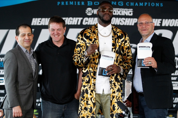 WBC heavyweight champion Wilder to face Ortiz Nov. 4