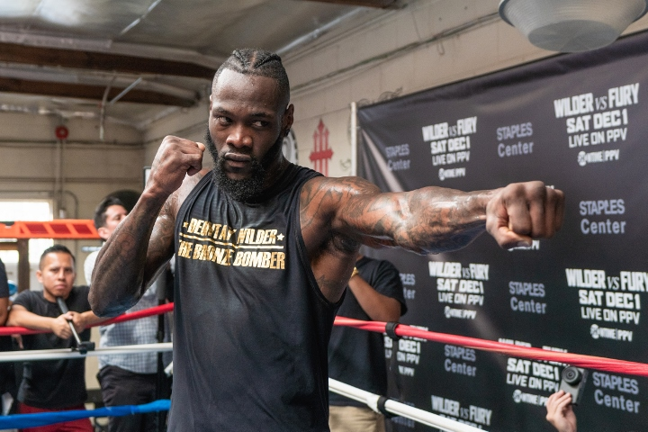 Deontay Wilder: I've transformed into a killer