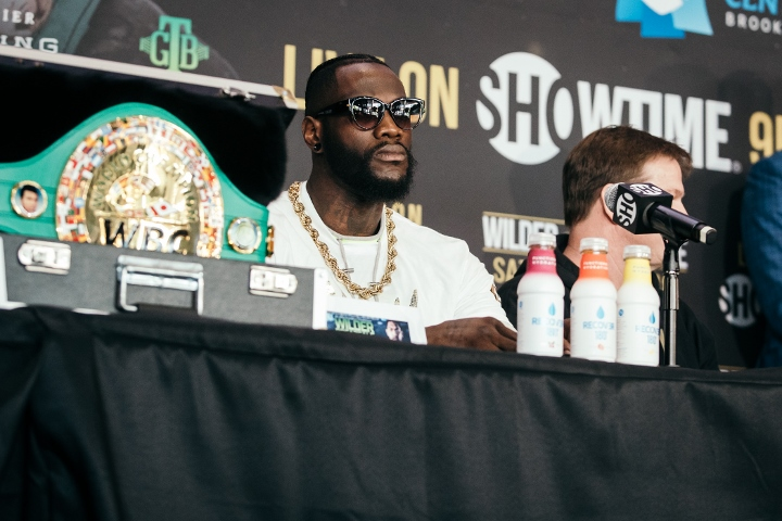 Heavyweight champ Deontay Wilder threatens to kill rival in the ring