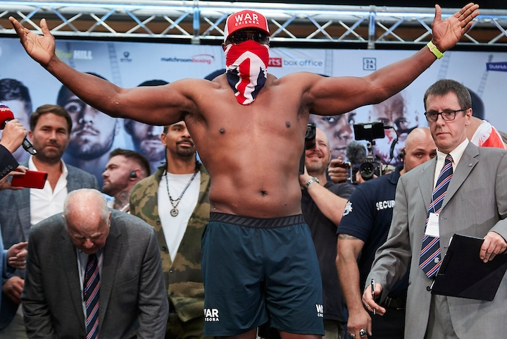 Chisora's knockout leaves Szpilka on oxygen