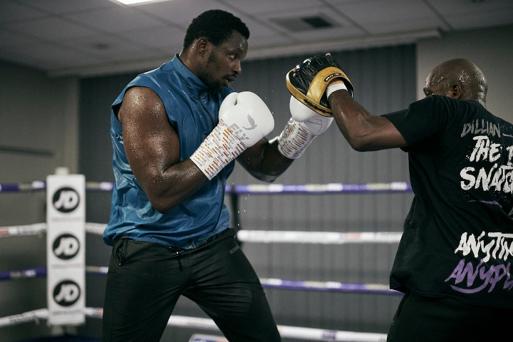 Photos: Dillian Whyte, Alexander Povetkin - Show Off Moves at Open Workout - Boxing News