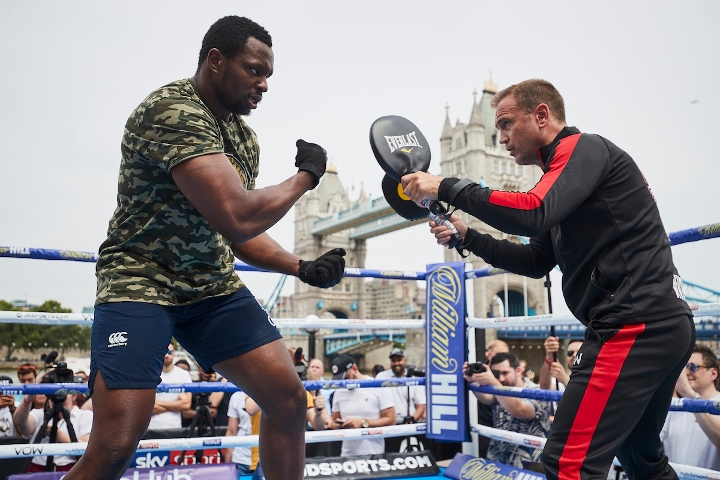Dillian Whyte insists he's improving quicker than 'maxed out' Anthony Joshua