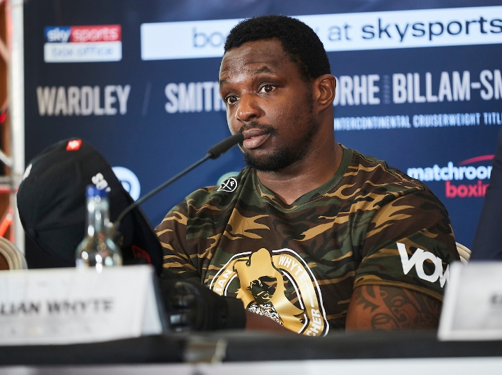 Dillian Whyte in drug scandal