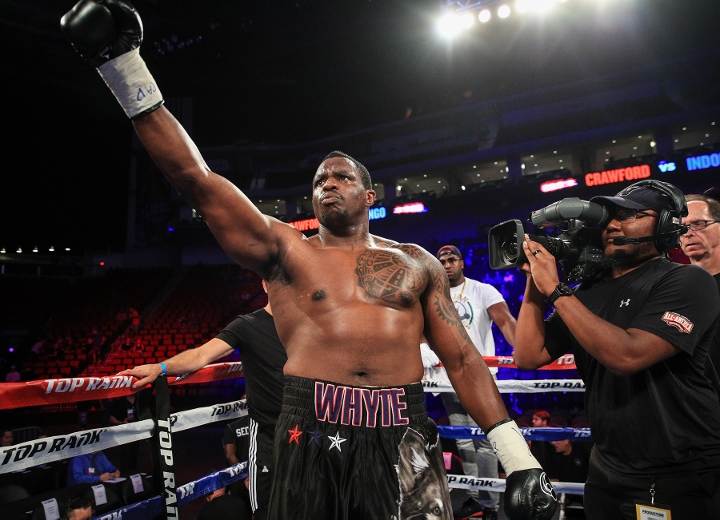 Dillian Whyte slams Anthony Joshua after 'ridiculous' offer