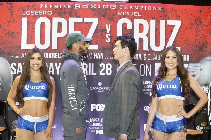 Photos: Josesito Lopez, Miguel Cruz - Go Face To Face at