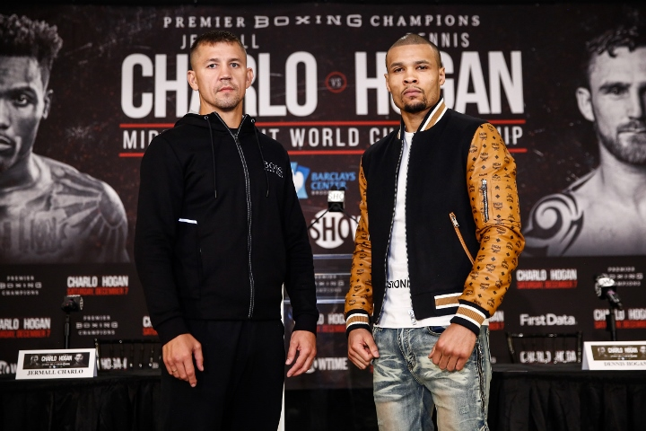 Dennis Hogan says he'll have more power as middleweight vs. Jermall Charlo