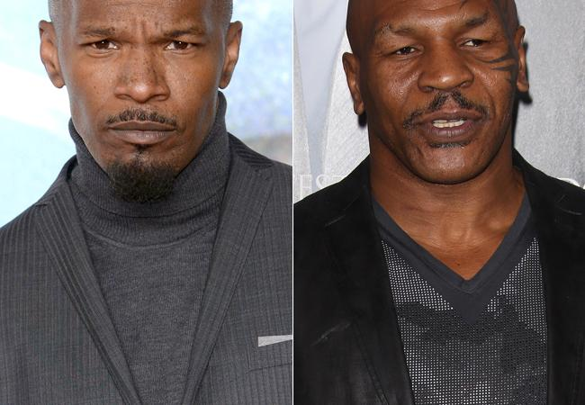 Jamie Fox And Mike Tyson