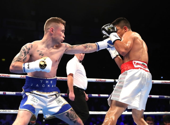 Carl Frampton Vs Horacio  Garcia Full Fight Video And Post Fight Comments