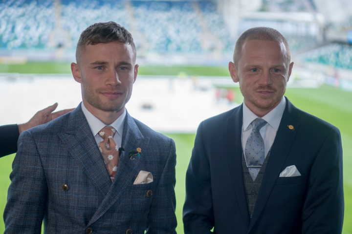 Carl Frampton defeats Luke Jackson with ninth-round stoppage at Windsor Park
