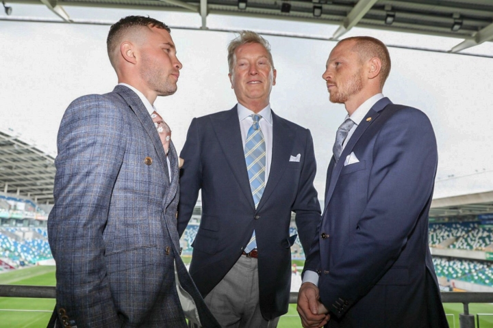 Carl Frampton - Josh Warrington fight will be tougher test than Jackson
