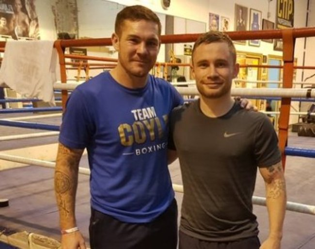 Carl Frampton confirms Jamie Moore as new trainer after split from McGuigans
