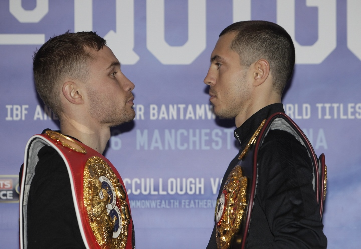 Frampton Willing To Fight Quigg Again - If He Beats Valdez