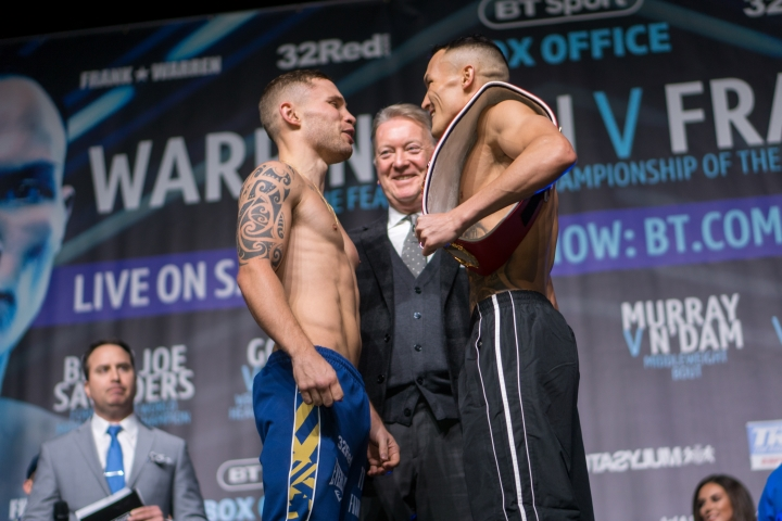 Josh Warrington wants big fights after defeating Carl Frampton