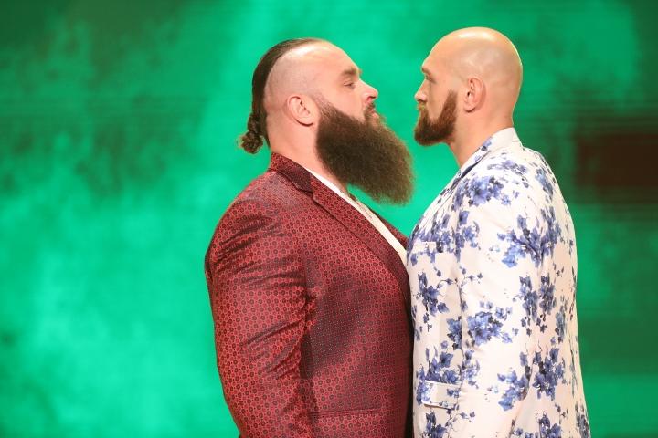 WWE Announces Tyson Fury vs Braun Strowman Match For Crown Jewel Event
