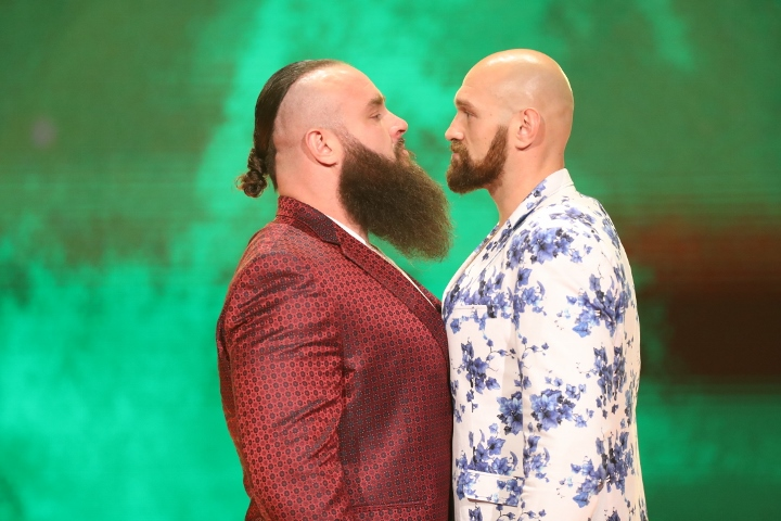 """Backstage News On Why WWE Booked Tyson Fury For Crown Jewel"""""""
