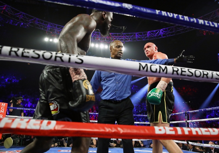 Wilder reveals why he lost to Fury, activates rematch clause