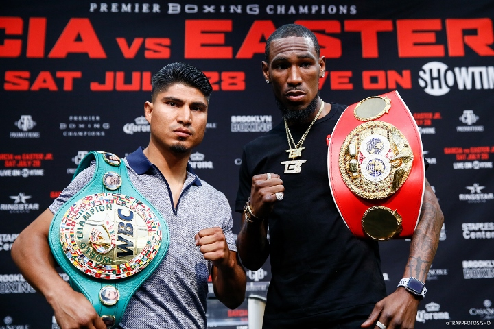 Watch Mikey Garcia vs Robert Easter Jr