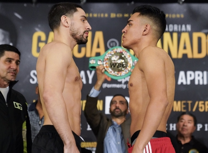 Garcia beats Granados via seventh-round TKO