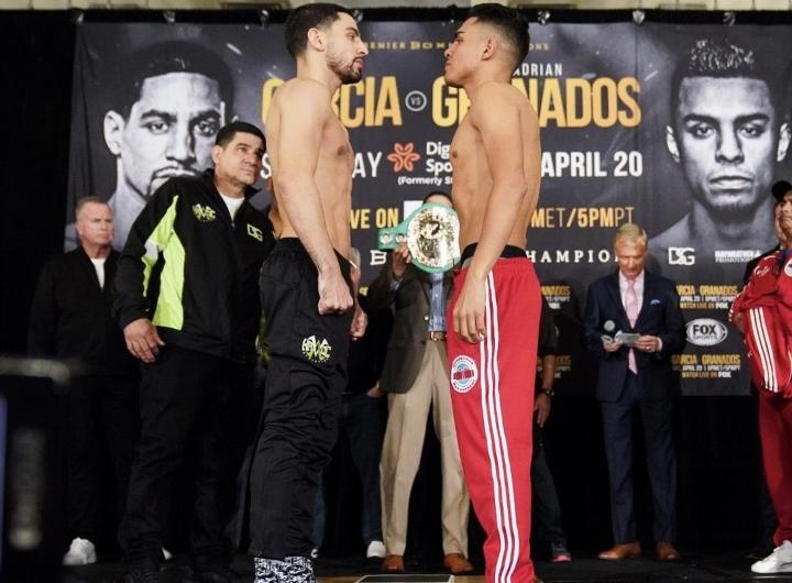 Danny Garcia Wins Via TKO Stops Adrian Granados In 7th Round