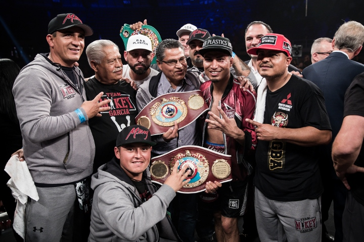 Mikey Garcia Snags His 4th World Title