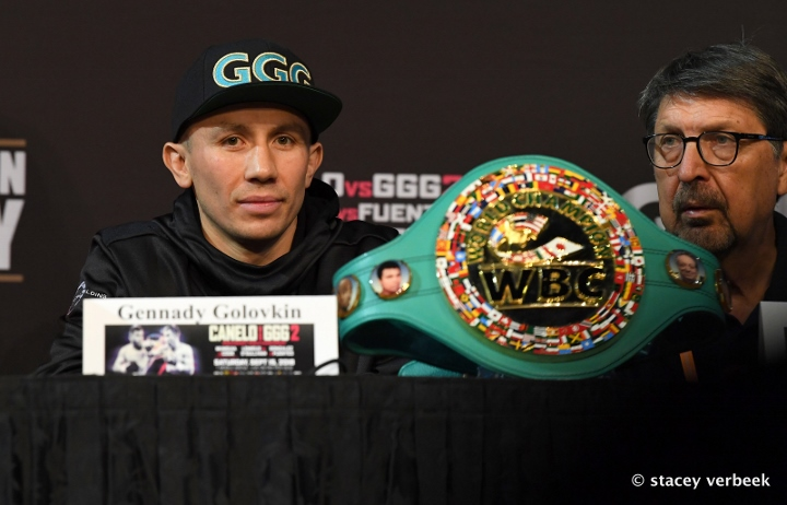 When Gennady Golovkin Walked Through A 'Canelo' Bomb Like It Was Nothing