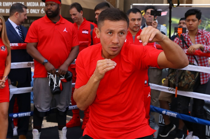 Golovkin returns to ring with fourth-round knockout of Rolls