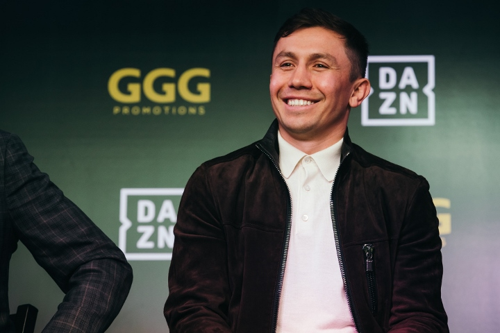 Golovkin, DAZN Discuss New Partnership