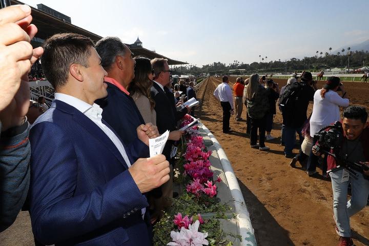 Photos Gennady Golovkin Hits The Santa Anita Derby