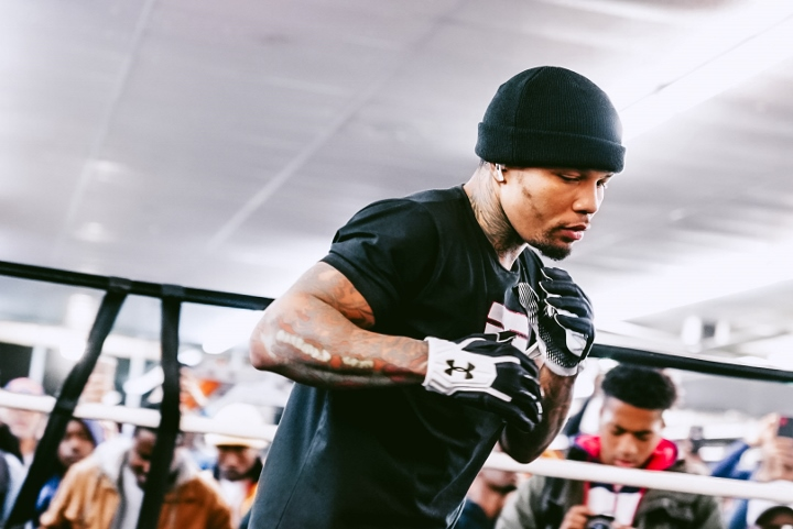 Photos: Gervonta Davis Putting in Work For Yuriorkis Gamboa
