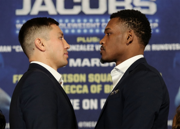 Golovkin vs Jacobs: Enhanced odds of 5/1 Golovkin, fight time and preview
