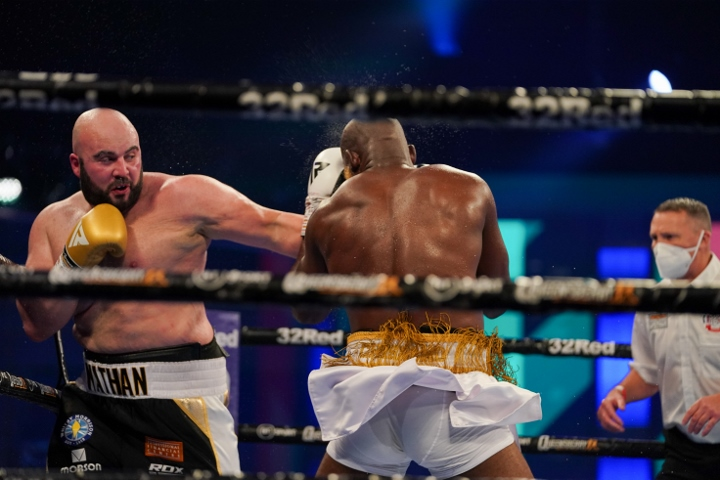 Photos: Nathan Gorman Returns, Decisions Lartey Over Ten - Boxing News