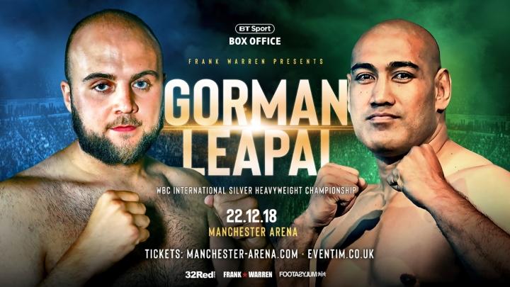 Nathan Gorman vs Alex Leapai