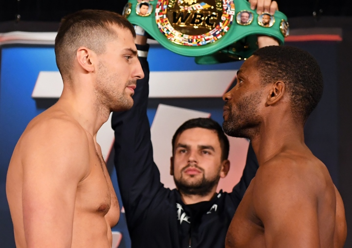Gvozdyk retains WBC light heavyweight title as Ngumbu hurt