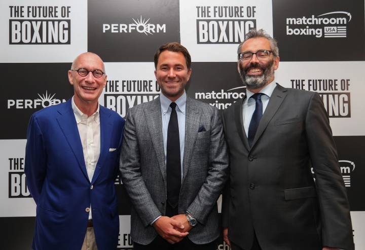 Eddie Hearn boasts $1bn transatlantic streaming deal is 'biggest ever in boxing'