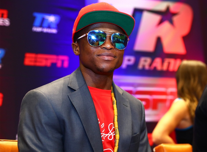 Isaac Dogboe signs with Top Rank