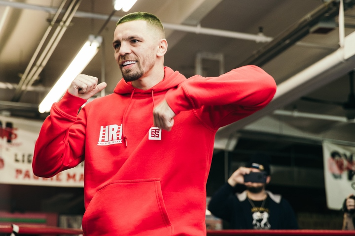 Ukrainian boxer Redkach vows to knock out Garcia on Jan 25