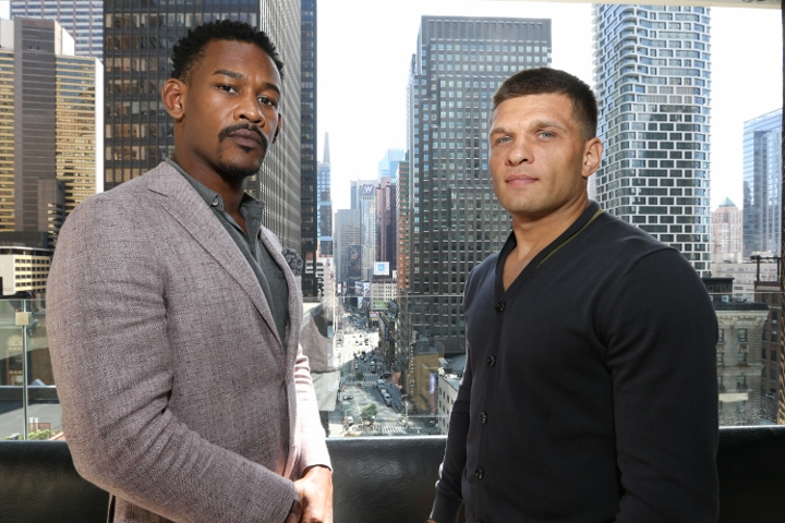 Jacobs eyes title, bigger place in middleweight picture