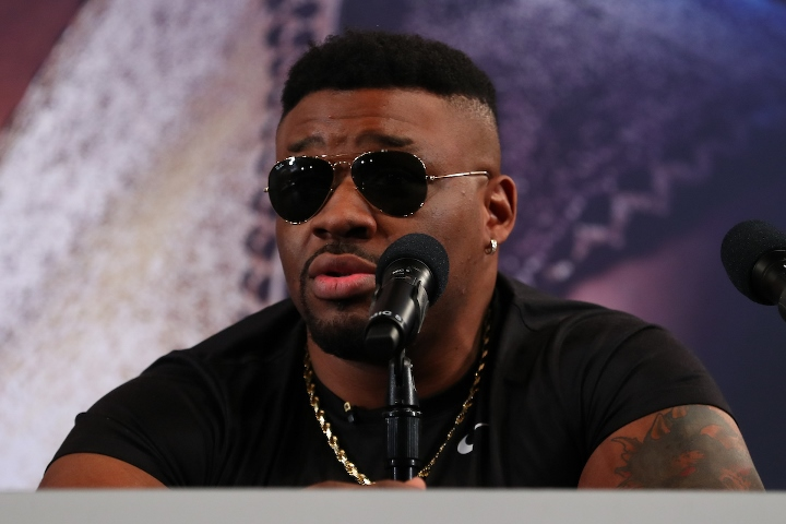photos anthony joshua jarrell miller get very heated