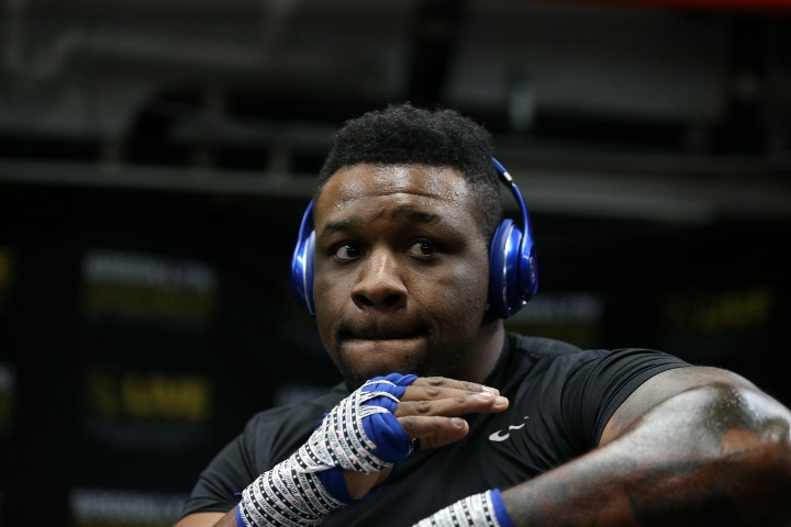 photos jarrell miller putting in work for mariusz wach