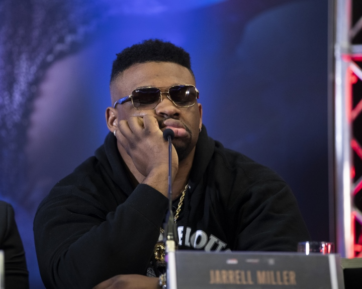 Jarrell Miller Denies Wrongdoing As He's Denied Licence To Fight Anthony Joshua