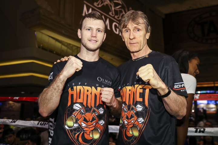Lonergan Promises 'Blood & Guts' From Horn-Crawford