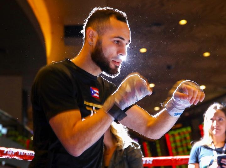 Jose Pedraza Training Hard For June Return in...