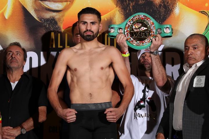 2019年7月28日WBO/WBC拳赛 胡克vs拉米雷斯 [cctv5视频] Hooket vs. J.Ramirez