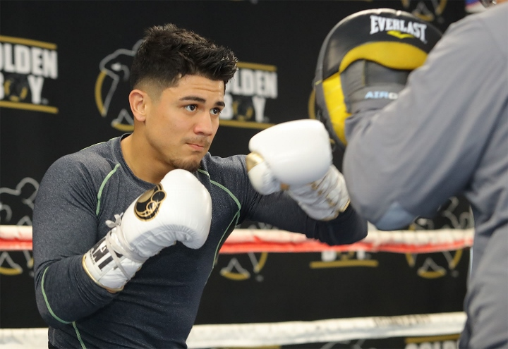 Joseph Diaz: More Motivating Knowing I`m Fighting For My...