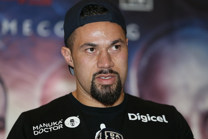 Joseph Parker pulls out of Dereck Chisora fight due to illness