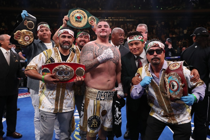 Anthony Joshua triggers Andy Ruiz Jr. rematch clause