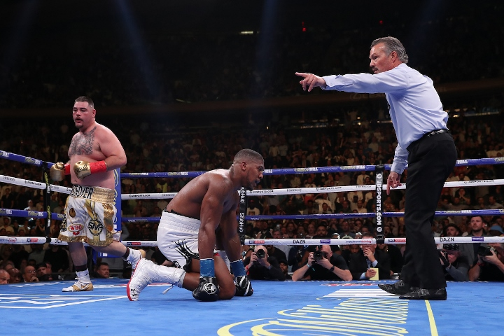 Promoter says Joshua-Ruiz rematch triggered