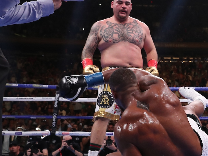 Anthony Joshua pushes Andy Ruiz defeat behind ahead of their re-match