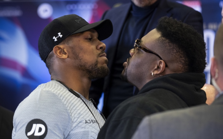 Bout: Anthony Joshua threatens to
